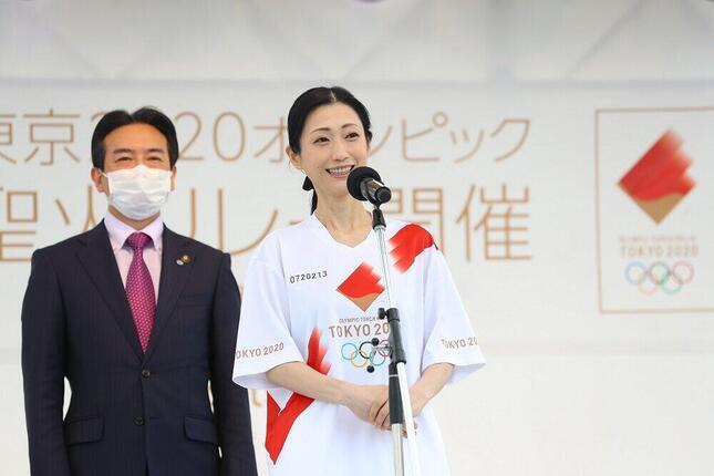 タレントの壇蜜さん(提供:東京2020組織委員会)