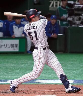 鈴木誠也のメジャー挑戦に暗雲?(写真:Penta Press/アフロ)