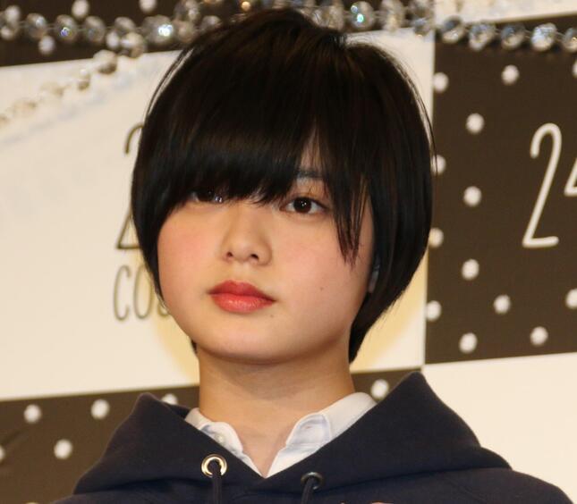 欅坂46時代の平手友梨奈さん(2018年撮影)