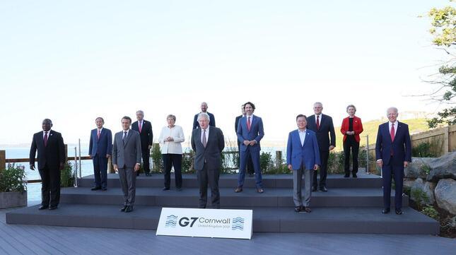 菅義偉首相にとって初めてのG7首脳会議出席となった(写真は首相官邸ウェブサイトから)