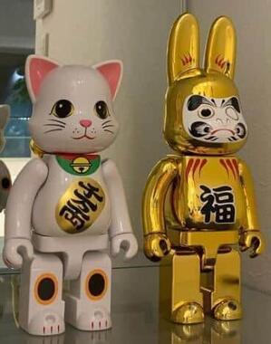 ZOZOから返送された達磨と招き猫(yumma_homeさんのインスタから)
