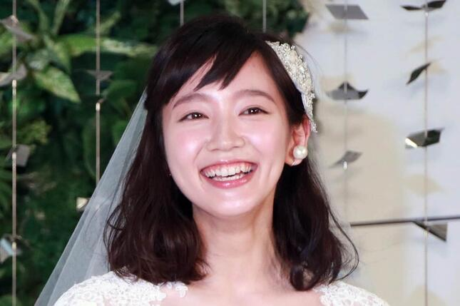 吉岡里帆さん(2016年撮影)