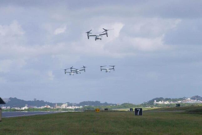 米軍普天間飛行場の危険性は、どうすれば除去できるのか(写真は米海兵隊ウェブサイトから)