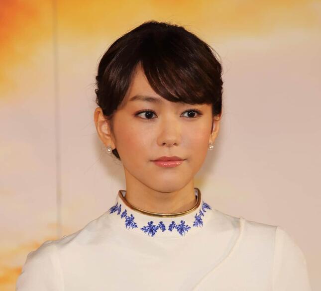 桐谷美玲さん(2014年撮影)