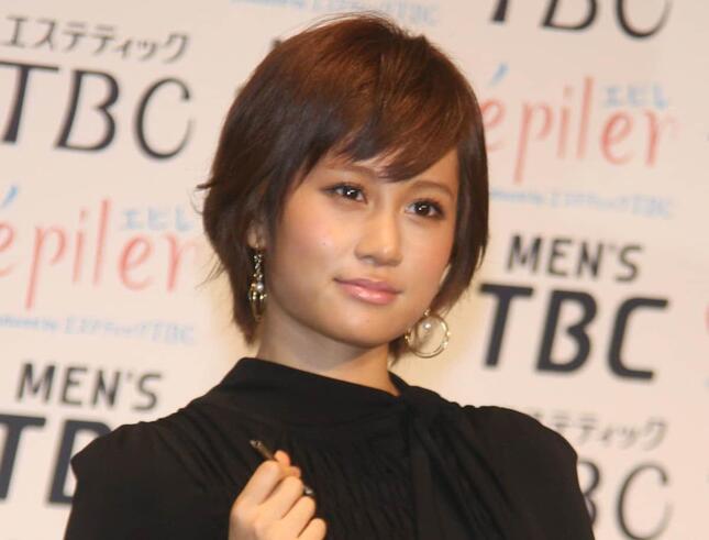 AKB時代の前田さん(2011年撮影)