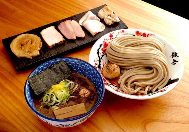 「中華蕎麦 沙羅善(さらぜん)」のつけ麺