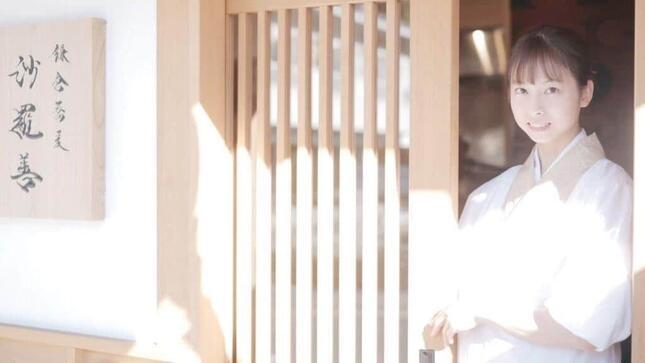 梅澤愛優香さんは店主をつとめる
