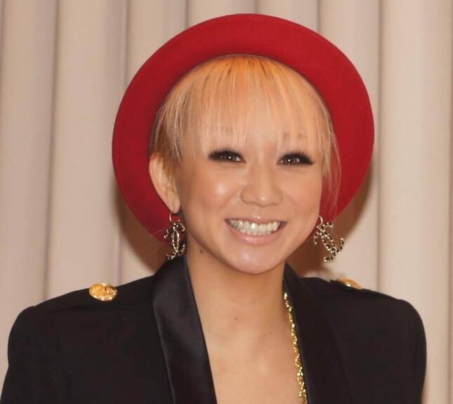倖田來未さん(写真は2012年末のNHK「紅白歌合戦」出場時)