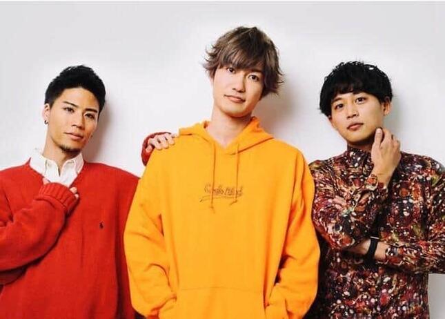 EvisJap(えびすじゃっぷ)の3人(CyberZニュースリリースより)