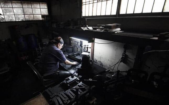 窮地に置かれた墨業界