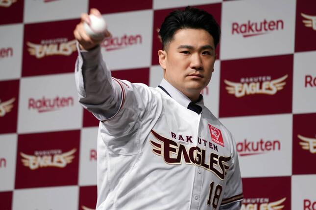 田中将大(写真:AP/アフロ)