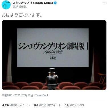 スタジオジブリのツイート