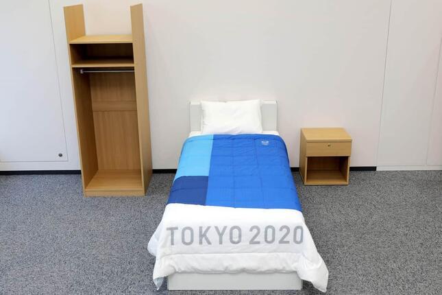 選手村居室の備品(C)Tokyo 2020