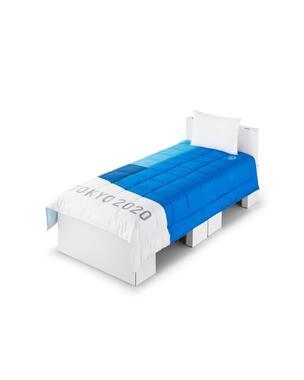 選手村に設置している寝具(C)Tokyo 2020