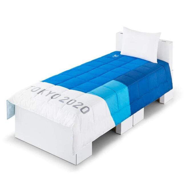 選手村に設置している寝具(パラリンピック)(C)Tokyo 2020