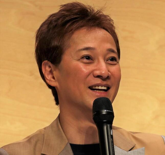 中居正広さん(2020年2月撮影)