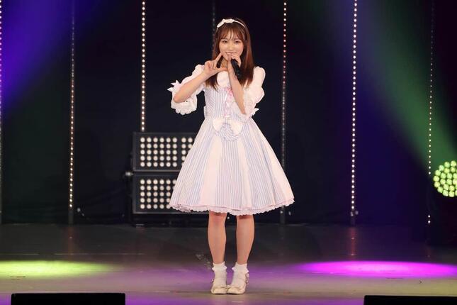 矢吹奈子さんのソロ曲「いじわるチュー」は34位にランクインした