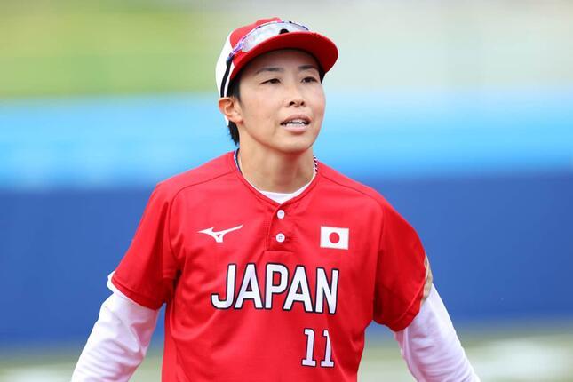 山田恵里(写真:長田洋平/アフロスポーツ)