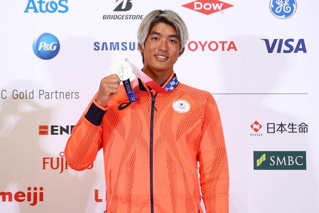 五十嵐カノア選手(写真:アフロスポーツ)