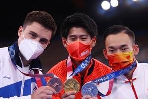 五輪体操銀メダルの中国代表、選手への「攻撃」やめるよう訴え 金・橋本大輝が「誹謗中傷」被害