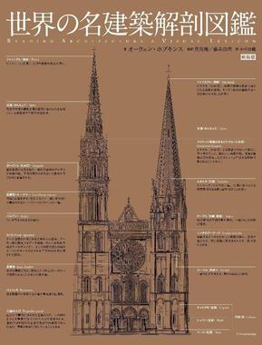 西洋建築を網羅した「世界の名建築解剖図鑑」