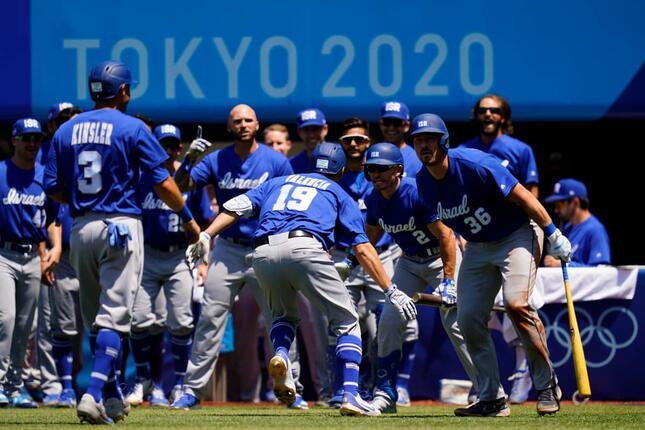 五輪イスラエル代表(写真:AP/アフロ)