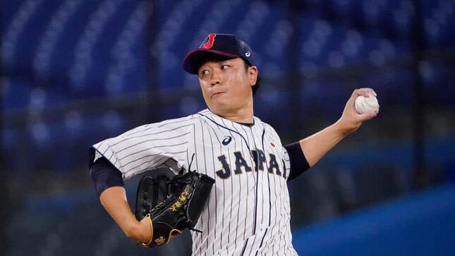 大野雄大投手(写真:AP/アフロ)