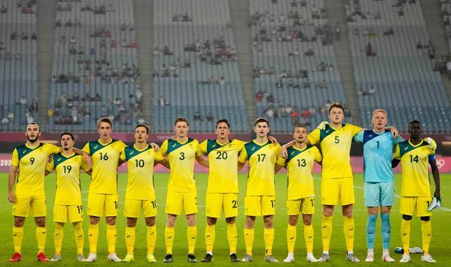 豪サッカー男子チーム(写真:AP/アフロ)