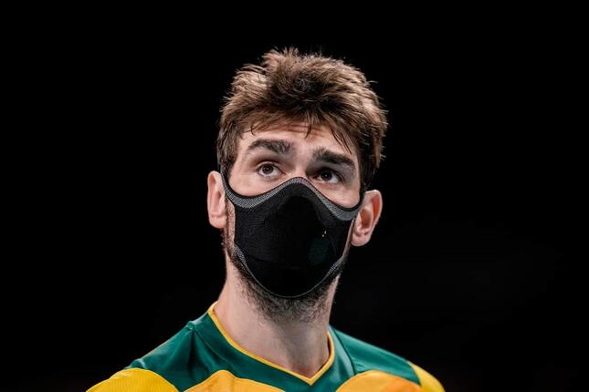 ルーカス・サートカンプ選手(写真:AP/アフロ)