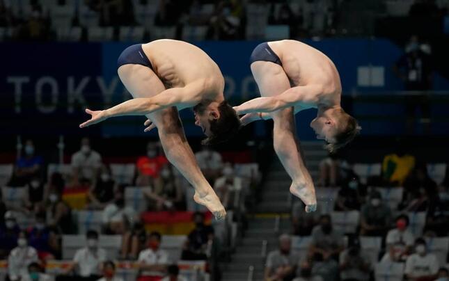 男子飛び込み・イギリス代表(写真:AP/アフロ)
