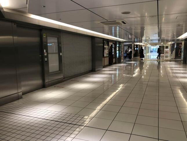 キッチンストリート(2021年8月11日に撮影)