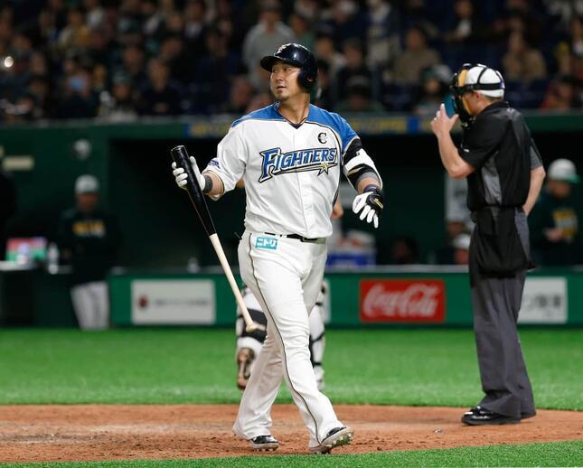 中田翔選手(写真:AP/アフロ)