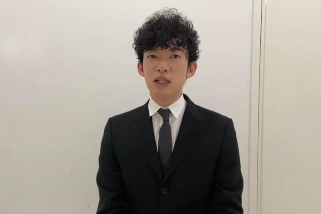 2度目の謝罪をするDaiGoさん(8月14日のYouTube配信より)