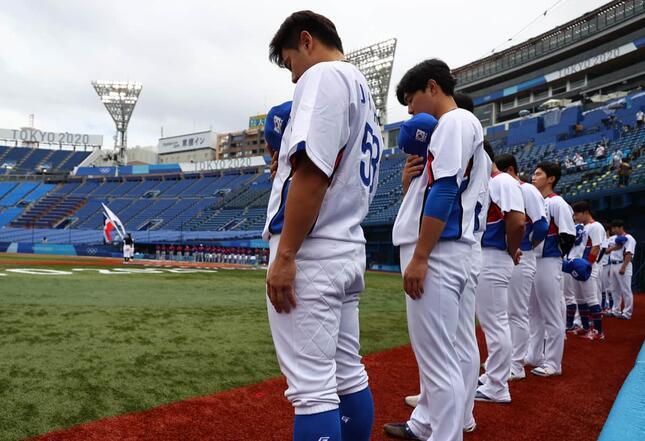 東京五輪野球韓国代表チーム(写真:ロイター/アフロ)