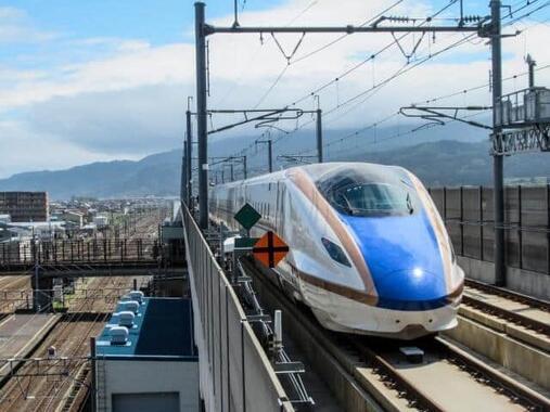 北陸新幹線(写真はイメージ)