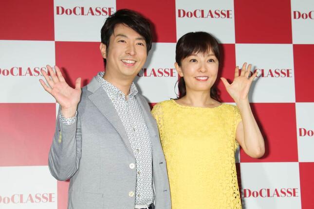 有村さんと丸岡さん(写真:Pasya/アフロ)