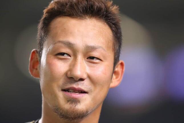 巨人移籍が決まった中田翔選手(写真:YUTAKA/アフロスポーツ)