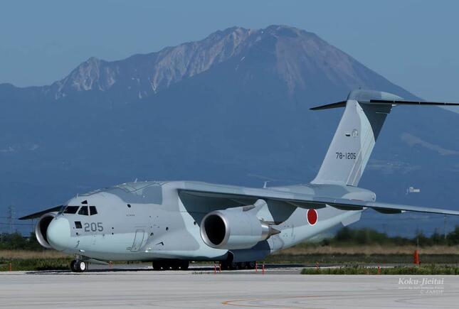 C-2輸送機など3機がアフガニスタンに派遣されている(写真は航空自衛隊ウェブサイトから)
