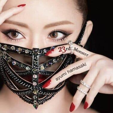 ツアーのタイトルに盛り込まれた浜崎あゆみさんのシングル「23rd Monster」のジャケット