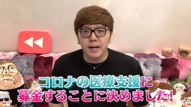 YouTubeチャンネルHikakinTVの投稿「チャンネル登録者数1000万人いっても祝うことはやめました」より