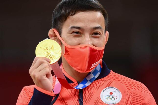 高藤直寿選手(写真:AFP/アフロ)