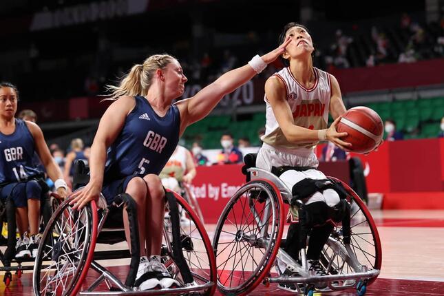 2020東京パラリンピック車椅子バスケ女子予選(写真:長田洋平/アフロスポーツ)