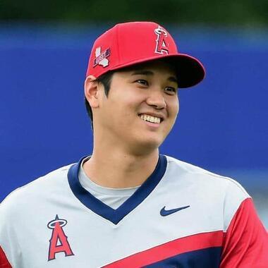 大谷翔平選手(写真:USA TODAY Sports/ロイター/アフロ)