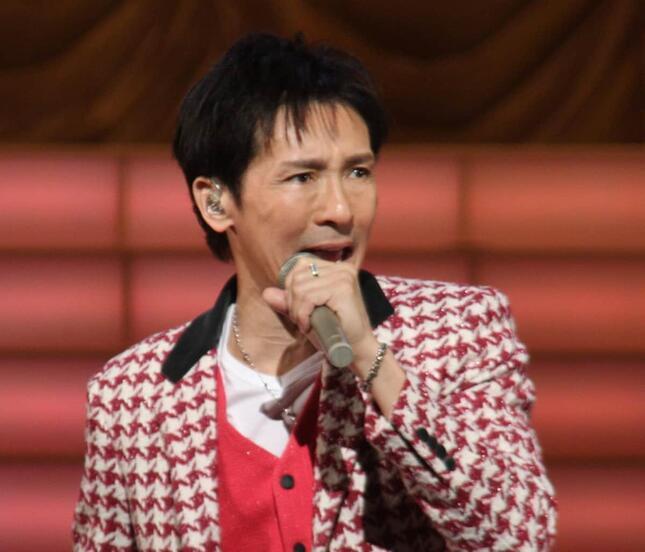 NHK紅白歌合戦に出場した時の郷ひろみさん