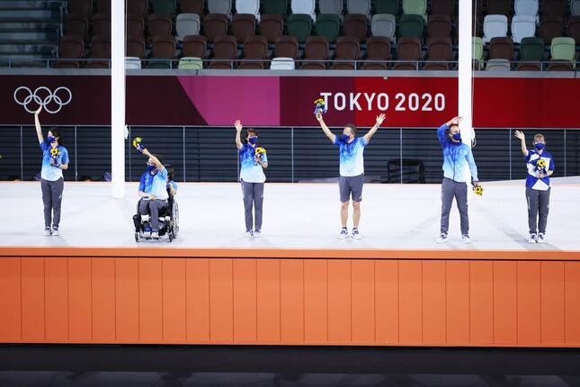 大会ボランティア(写真:西村尚己/アフロスポーツ )