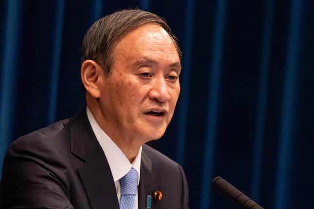 菅義偉首相は総裁選立候補の見送りを表明している