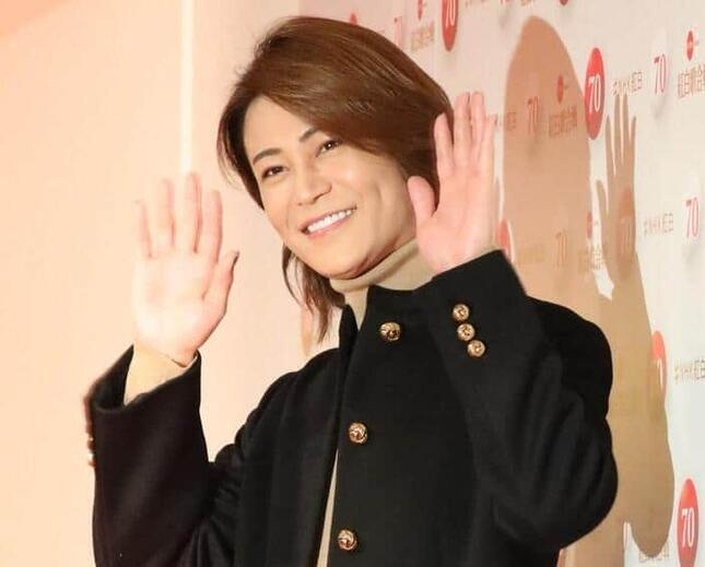 2019年のNHK紅白歌合戦に出場した時の氷川きよしさん