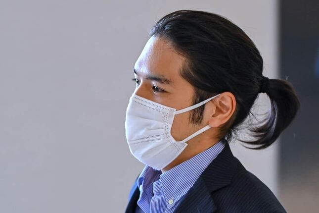 帰国した小室圭さん(写真:AFP/アフロ)