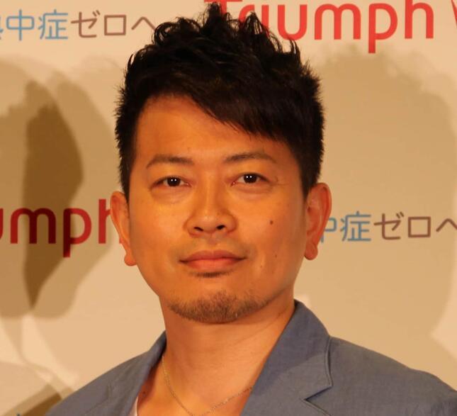 宮迫博之さん(2015年撮影)
