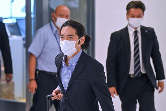 小室圭さん(写真:AFP/アフロ)